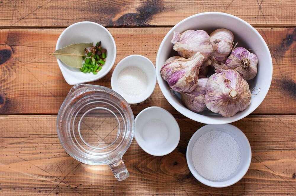 Ингредиенты для маринования бекона