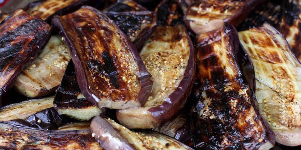 Баклажаны приготовленные на гриле