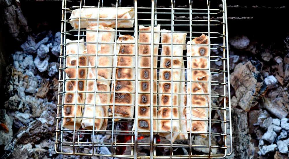 Сэндвичи на основе лаваша