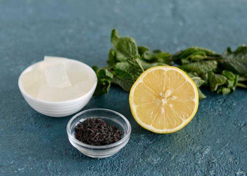 Продукты, необходимые для копчения семги на чае