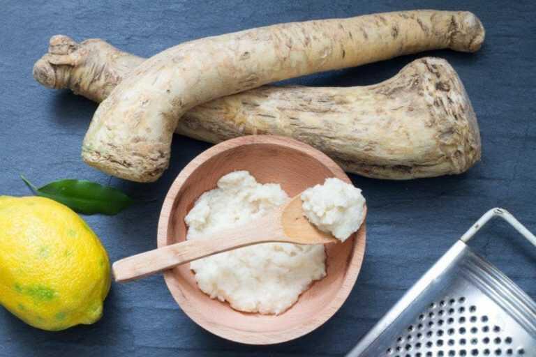 Продукты для маринада из хрена и сливочного сыра