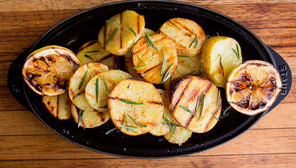 Как приготовить картошку на гриле