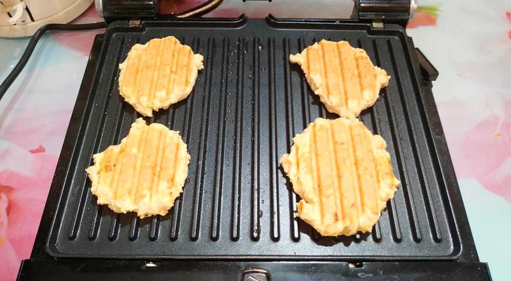 Как приготовить вафли на гриле