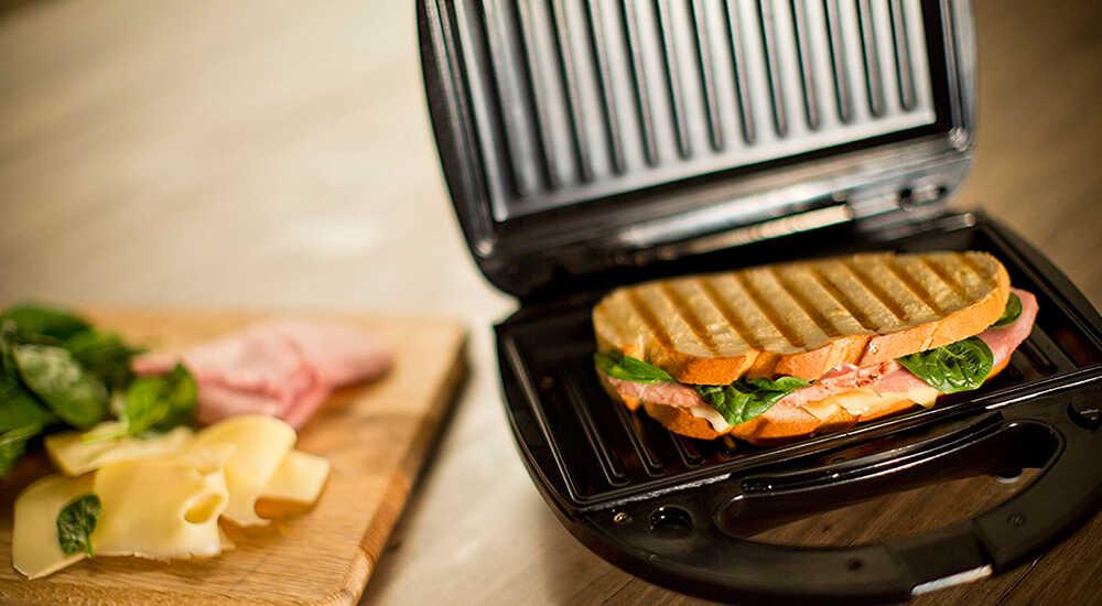 Как сделать бутерброды на гриле