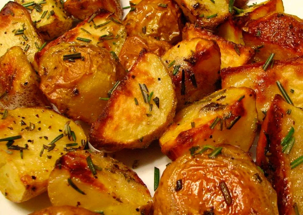 Приготовленный картофель