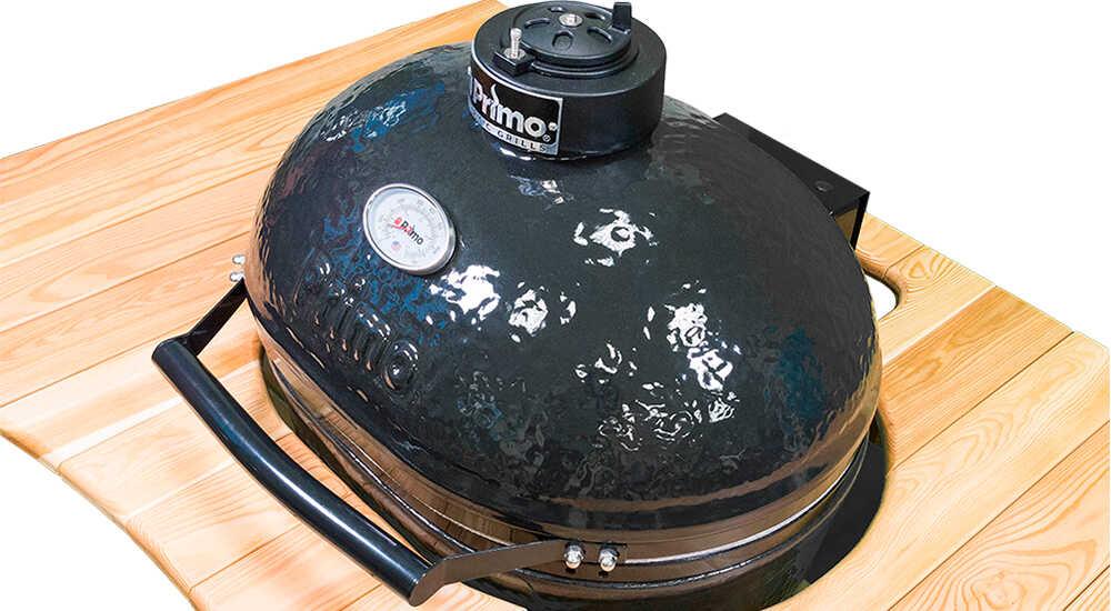 Керамический гриль Primo Oval XL