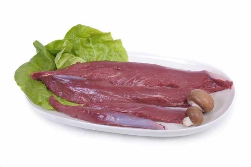 Как выглядит свежее мясо лося