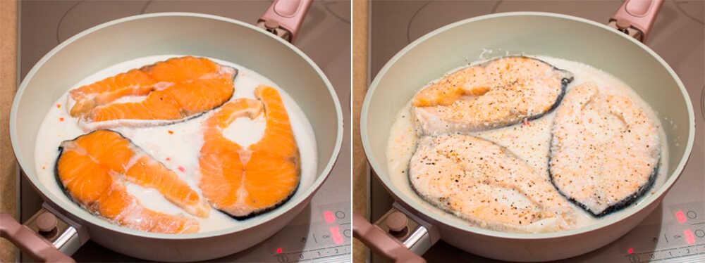 Маринад для сёмга из кокосового молока