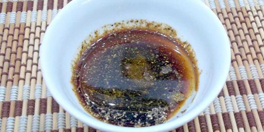 Маринад из винного уксуса с соевым соусом