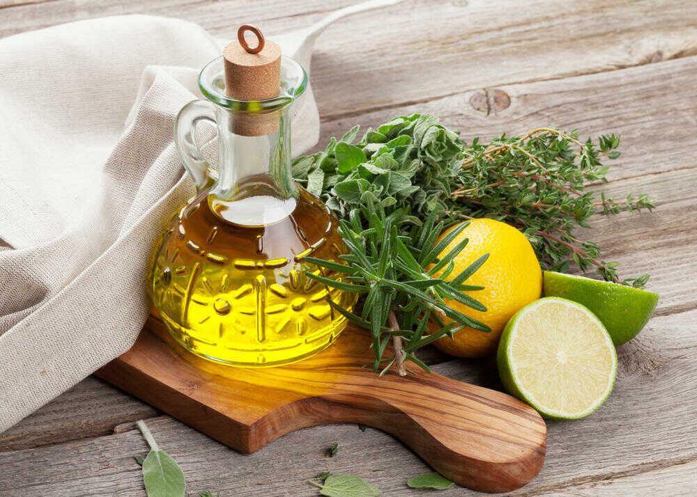 Ингредиенты для маринования осетра