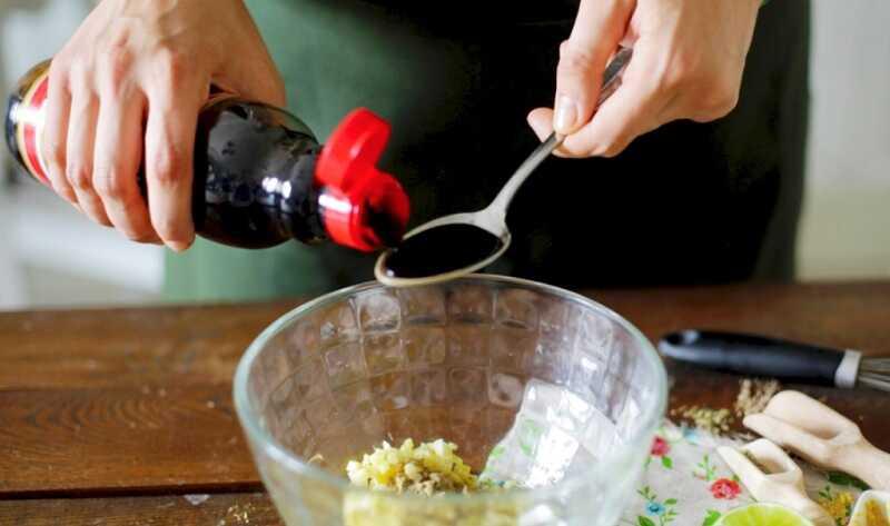 Соево-медовый маринад для толстолобика
