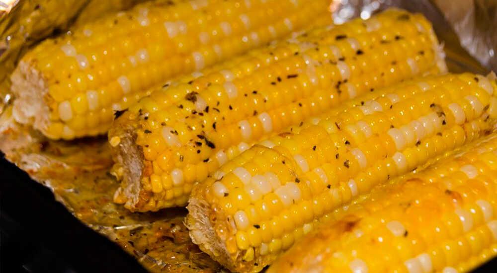 Медово-пряная кукуруза
