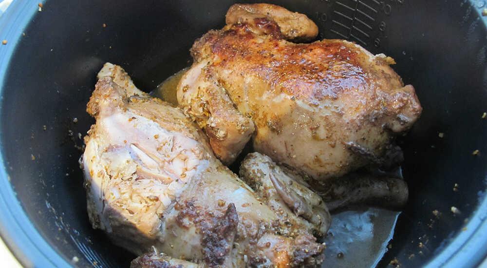 Приготовление курицы-гриль в мультиварке