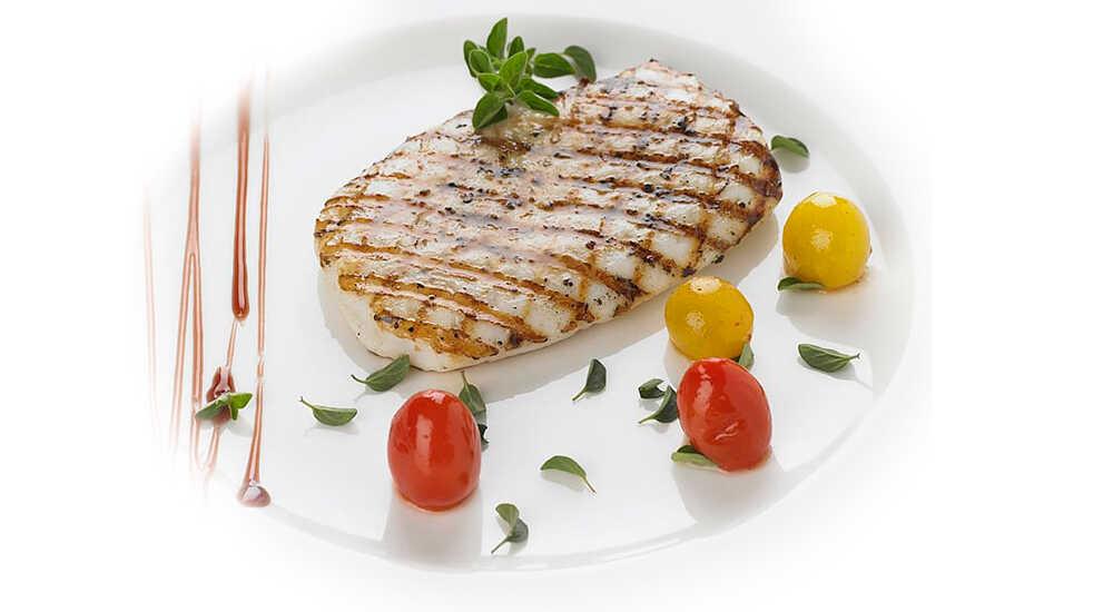 Бифштекс из белой рыбы