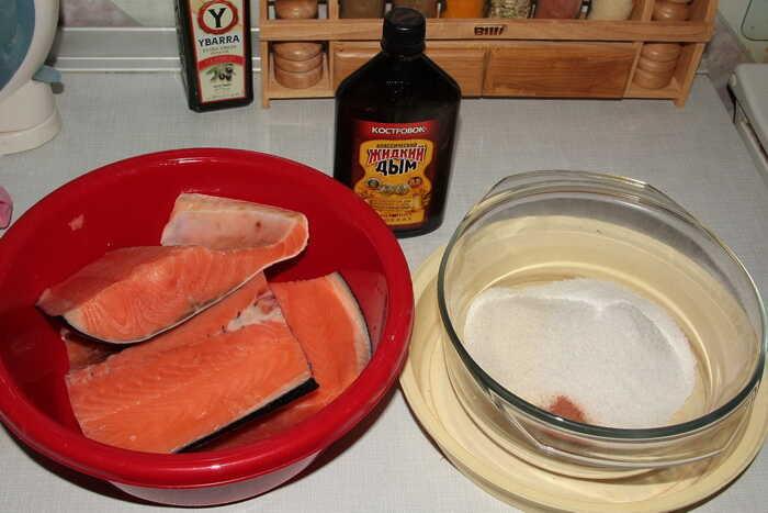 Приготовление маринада для семги
