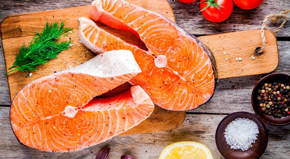 Сухая засолка лосося