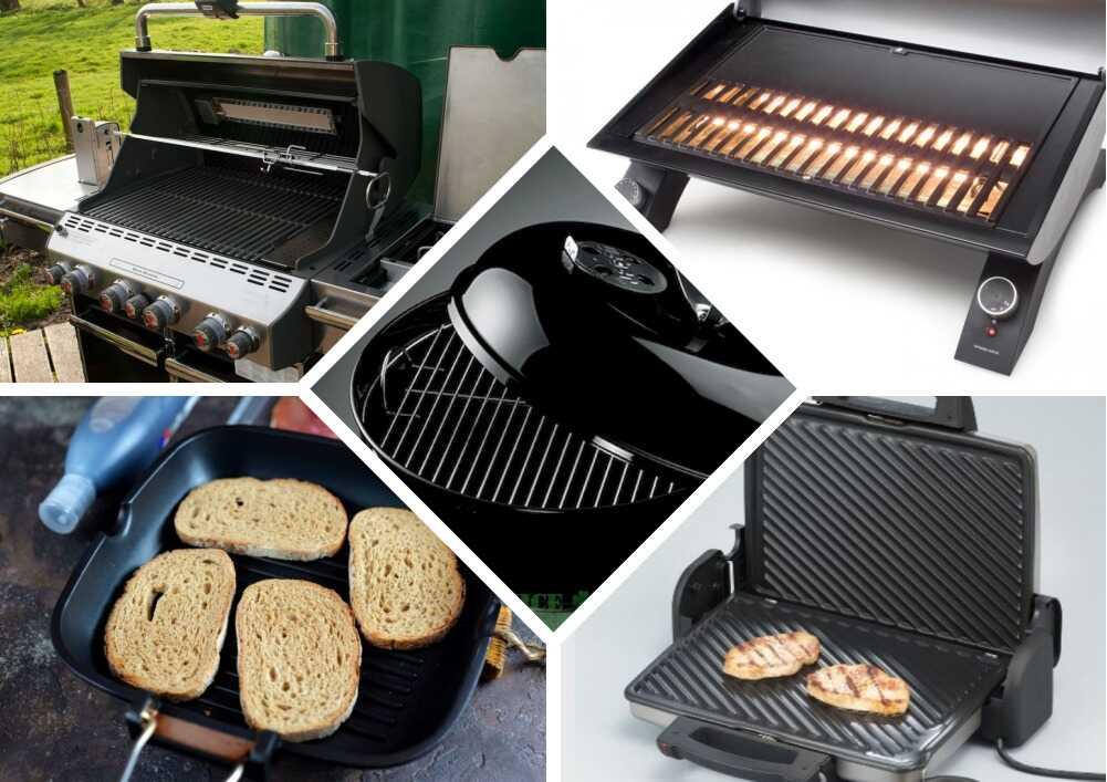 Виды грилей для приготовления сэндвичей