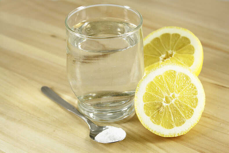 Продукты для лимонного маринада для лосятины