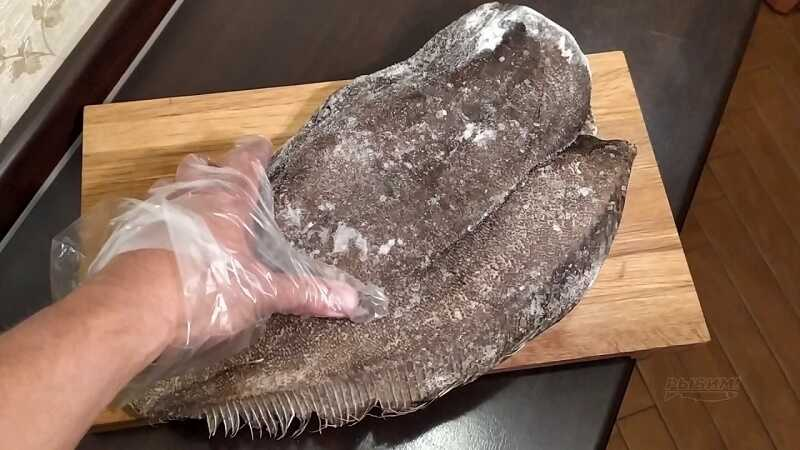 Замороженный палтус