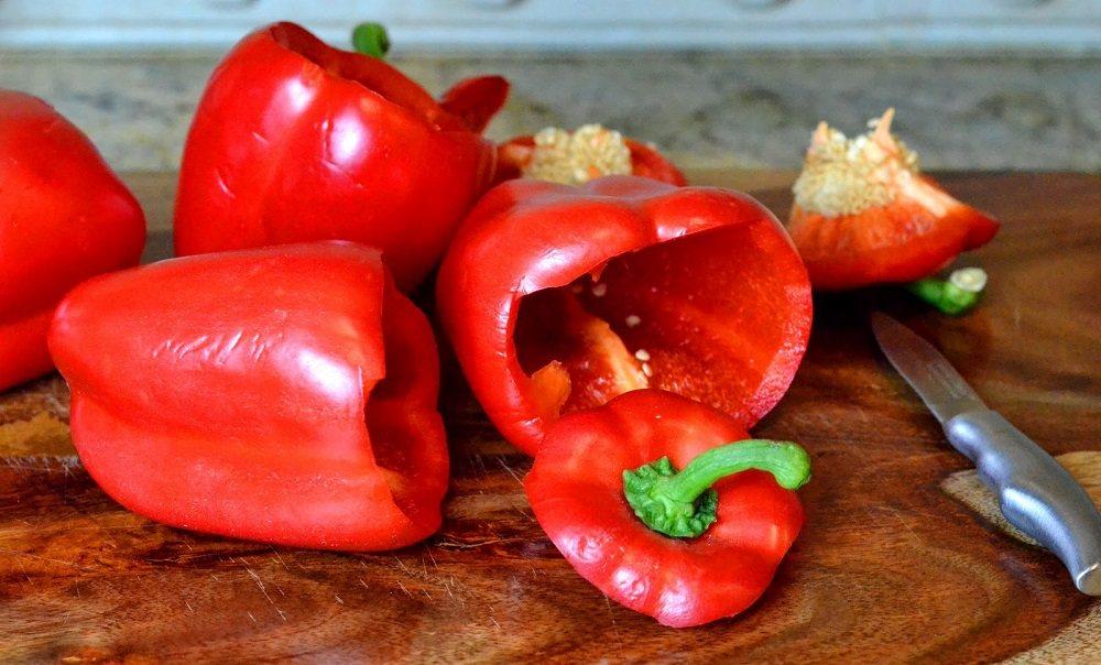 Болгарский перец без сердцевины