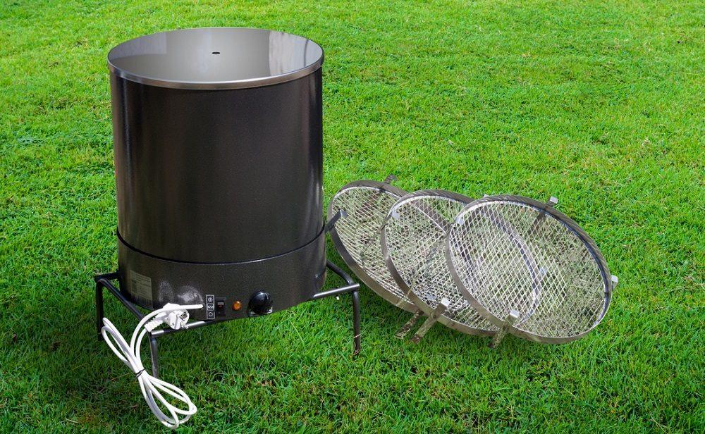 Электрическая коптильня для колбасы