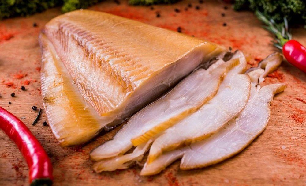 Филе копчёной белой рыбы