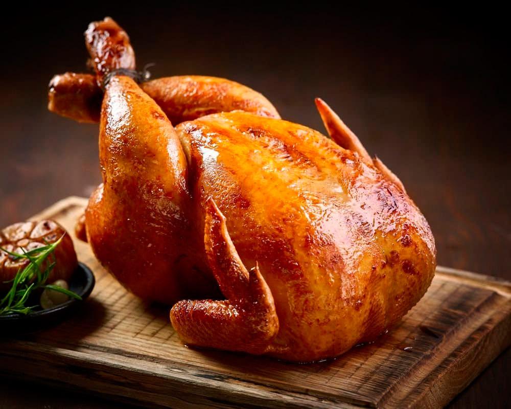 Готовый цыпленок