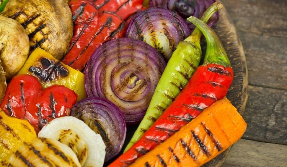 Готовые овощи-гриль
