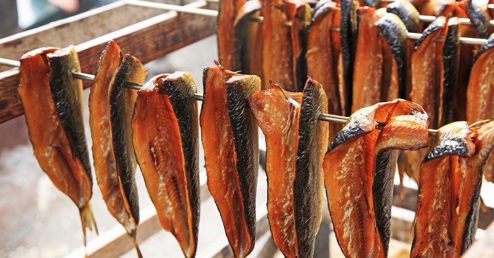 Холодное копчение красной рыбы