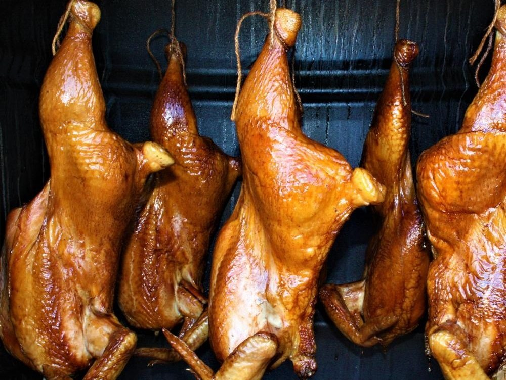Холодное копчение курицы