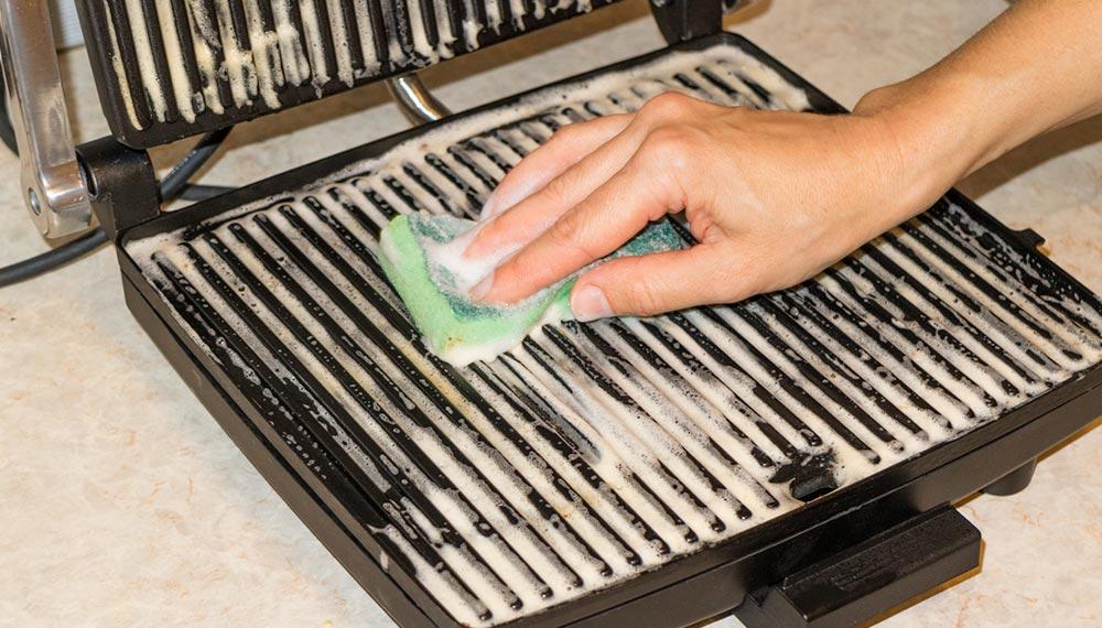 Как правильно мыть электрогриль