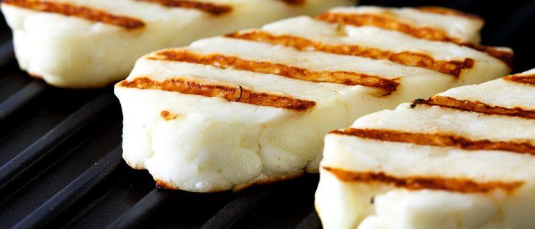Как правильно пожарить сыр на гриле