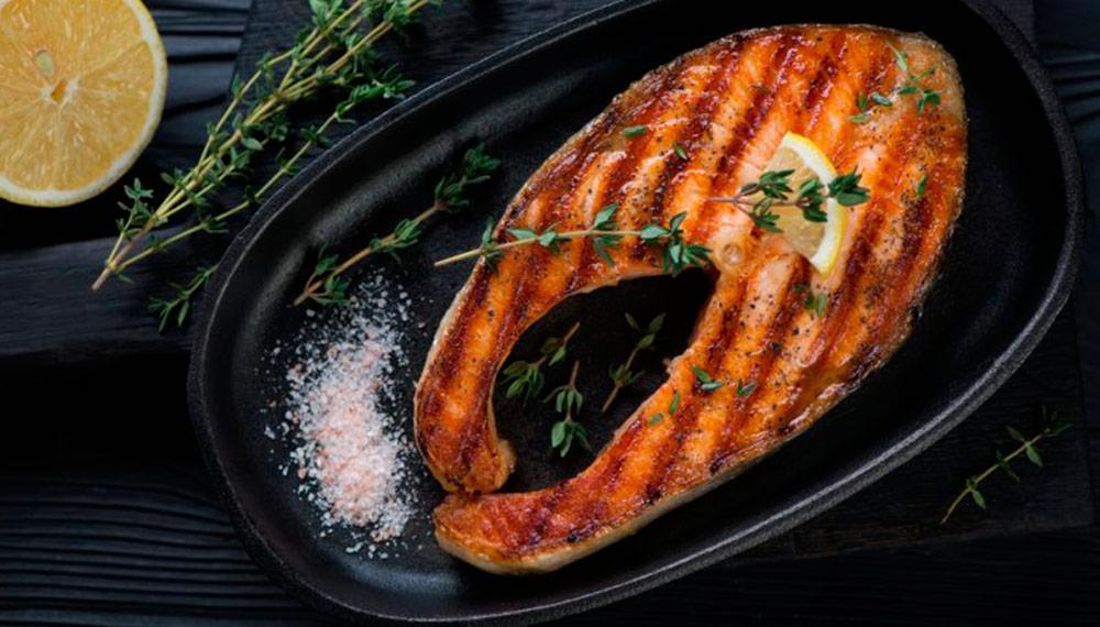 Как приготовить лосось на гриле