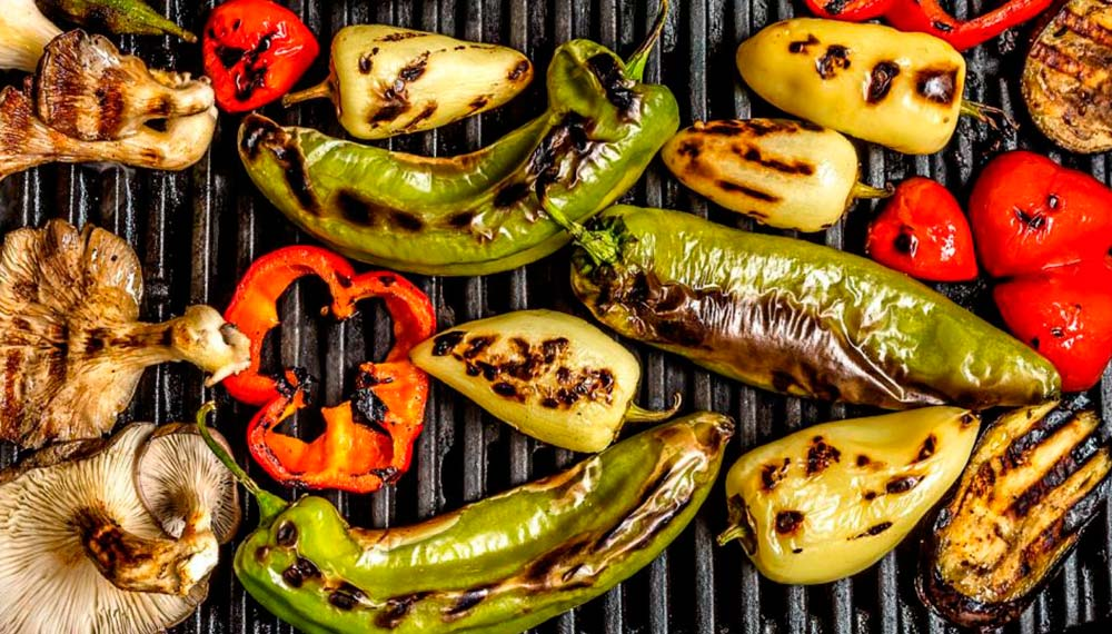 Как приготовить овощи на гриле