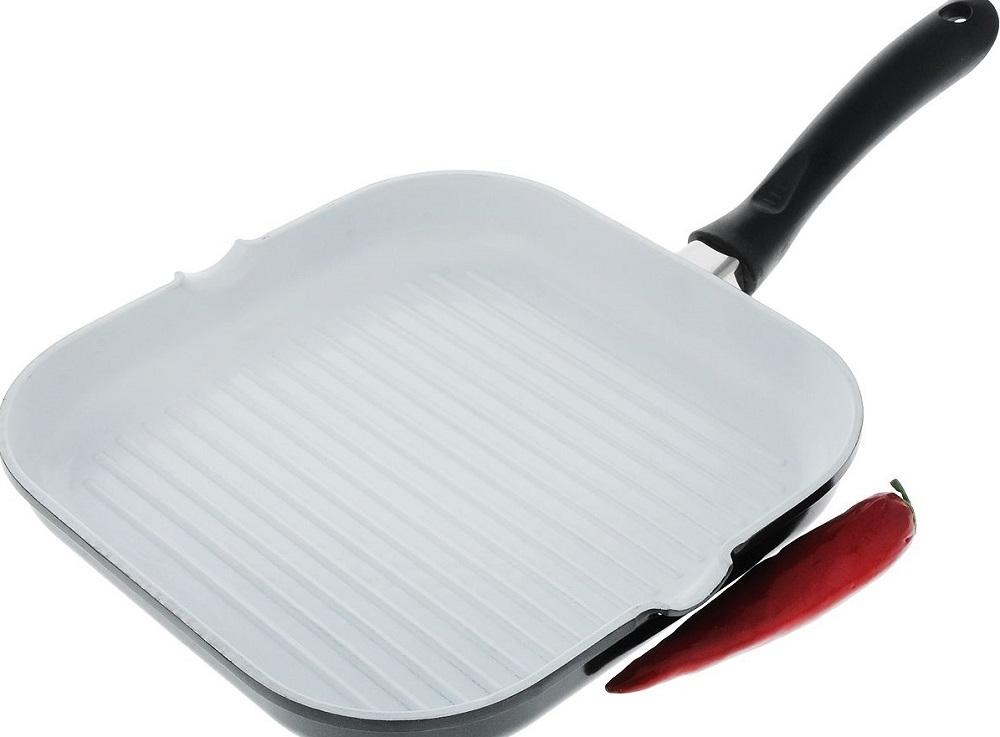 Керамическая сковорода-гриль