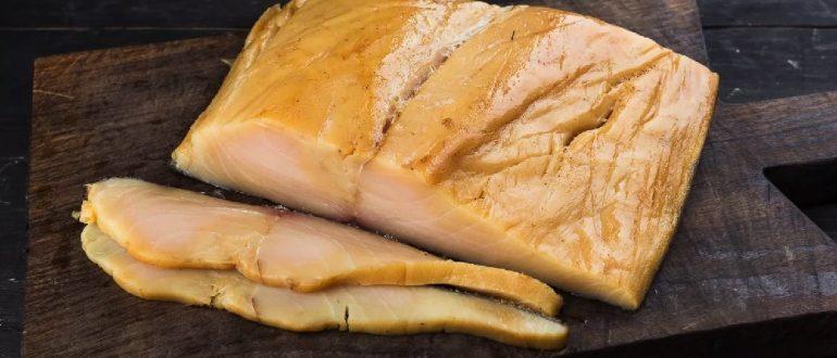 Копчёная масляная рыба