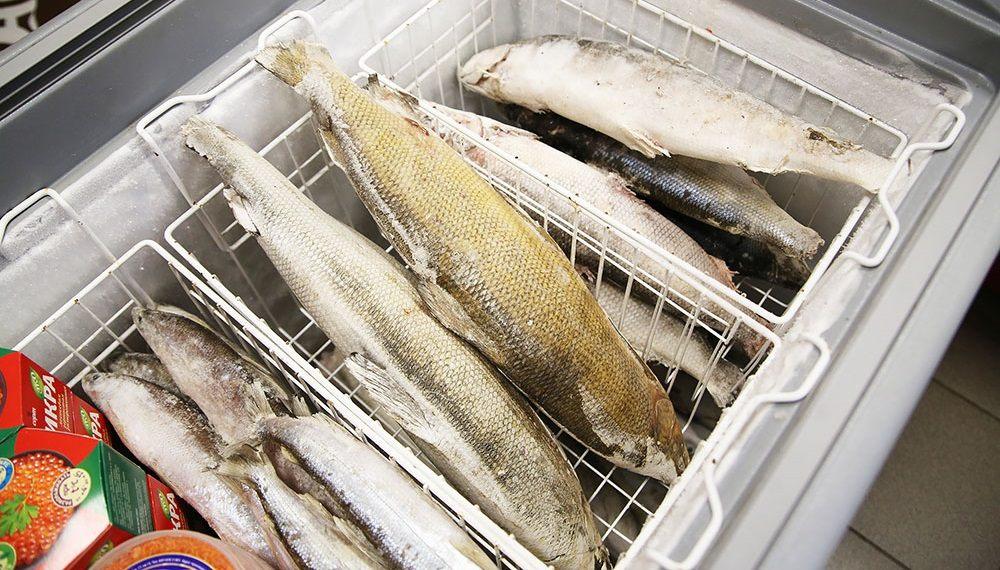 Копчёная рыба в морозильнике