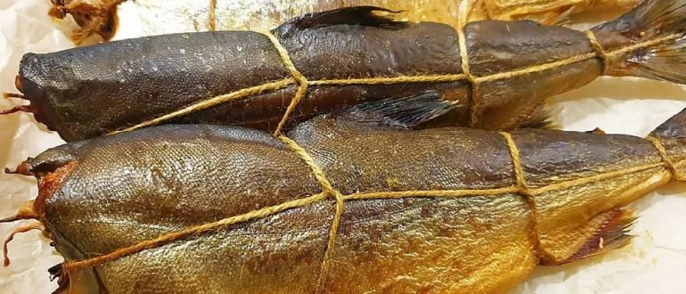 Копчёная рыбы навага