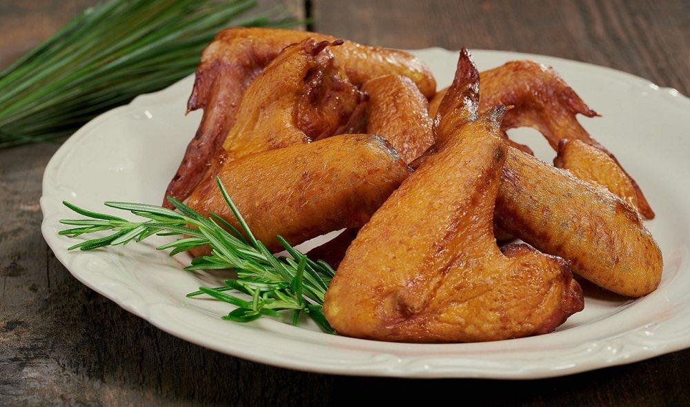 Копчёные куриные крылышки