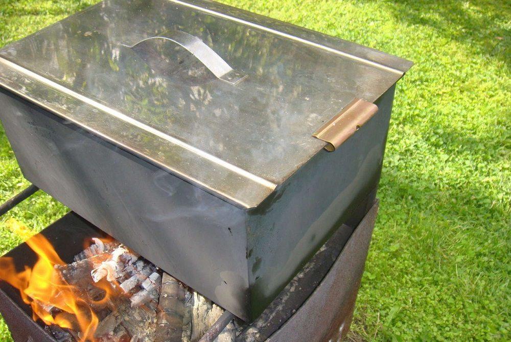 Коптильня горячего копчения для хека