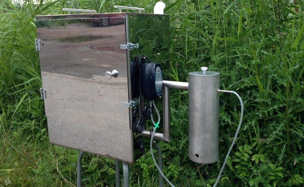 Коптильня с генератором дыма