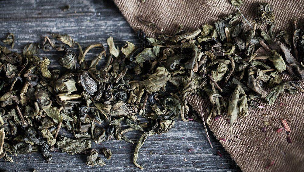 Крупнолистовой зелёный чай