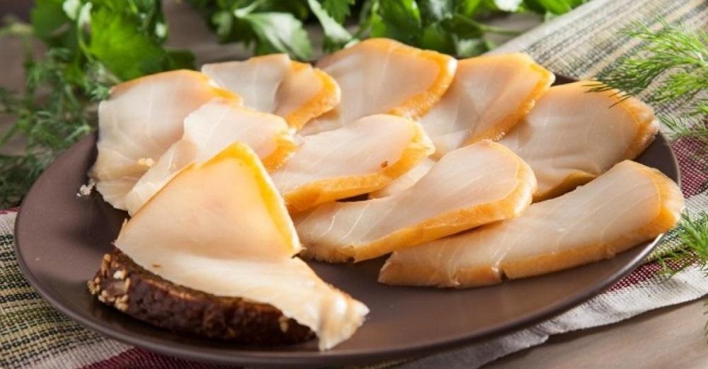 Ломтики масляной рыбы