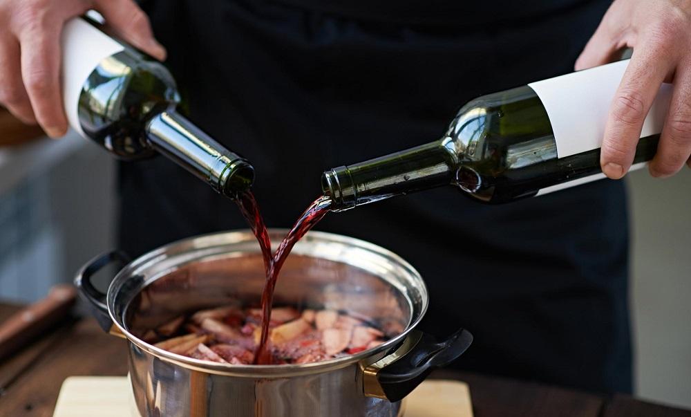 Маринад из красного вина