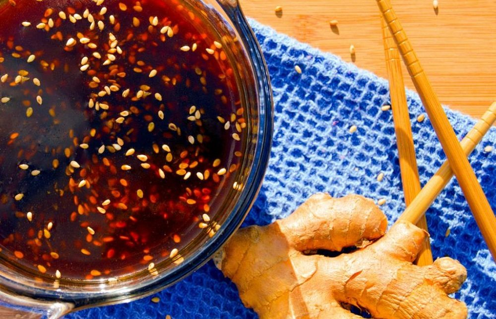 Маринад с кунжутным маслом