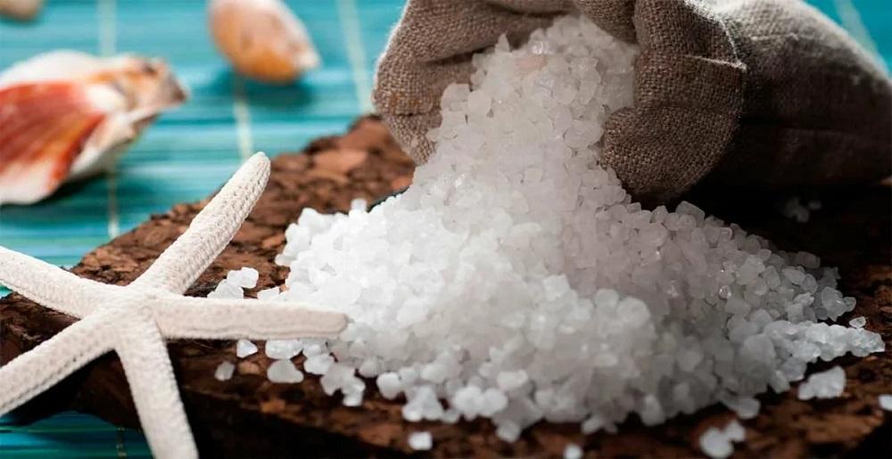 Морская соль в мешочке