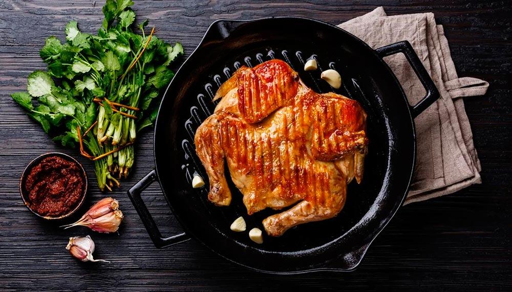 Как приготовить цыпленка табака на гриле
