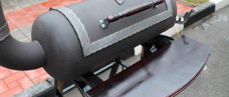 Как сделать гриль из газового баллона