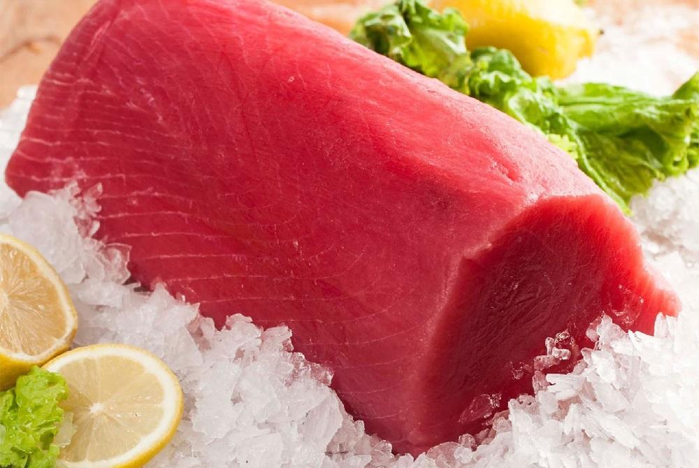 Свежезамороженное филе тунца
