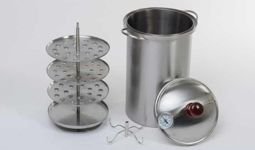 Цилиндрическая коптильня для дома